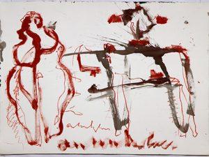 Vrouw, Dier en Crucifix